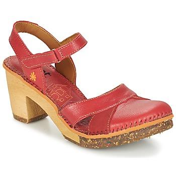 Zapatos Mujer Sandalias Art AMSTERDAM Carmín
