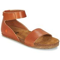 Zapatos Mujer Sandalias Art CRETA Marrón