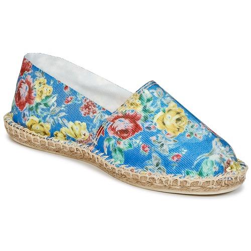 Zapatos Art Print Mujer Of Azul Alpargatas Soule Y6ybf7g