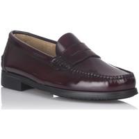 Zapatos Hombre Mocasín Castellanos Artesanos 350 BURDEOS