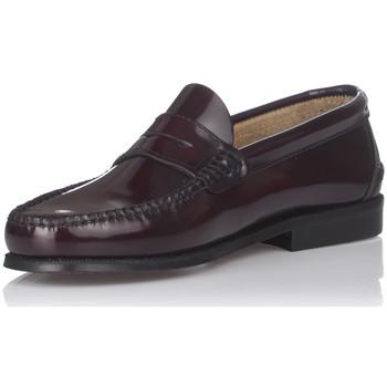 Zapatos Hombre Mocasín Castellanos Artesanos 600 BURDEOS