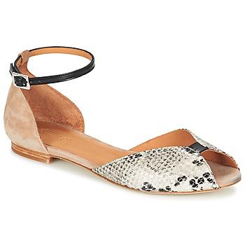 Zapatos Mujer Sandalias Emma Go JULIETTE Beige / Negro