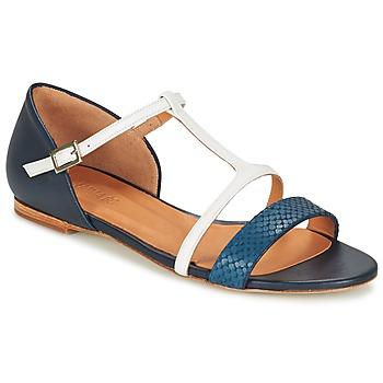 Zapatos Mujer Sandalias Emma Go KEIRA Marino / Blanco