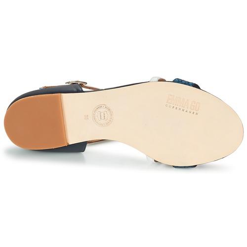 Descuento de la marca Zapatos especiales Emma Go KEIRA Marino / Blanco