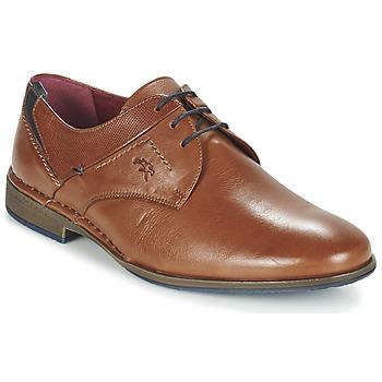 Zapatos Hombre Derbie Fluchos ALONSO Marrón