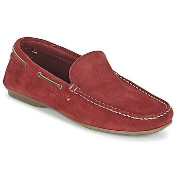 Zapatos Hombre Mocasín Fluchos LEX Rojo
