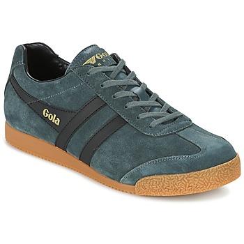Zapatos Hombre Zapatillas bajas Gola HARRIER Gris / Negro