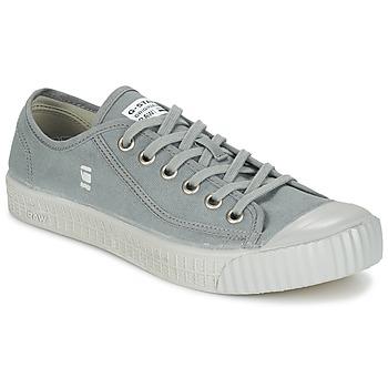 Zapatos Hombre Zapatillas bajas G-Star Raw ROVULC CANVAS Gris