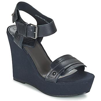 Zapatos Mujer Sandalias G-Star Raw CLARO WEDGE Marino