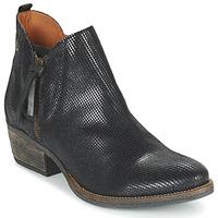 Zapatos Mujer Botas de caña baja Coqueterra LIZZY Negro