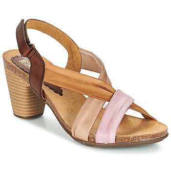 Zapatos Mujer Sandalias Bunker LIZ Marrón / Rosa