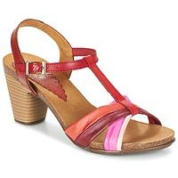 Zapatos Mujer Sandalias Bunker LIZ Rojo / Rosa