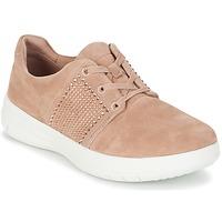 Zapatos Mujer Zapatillas bajas FitFlop SPORTY-POP X CRYSTAL Rosa