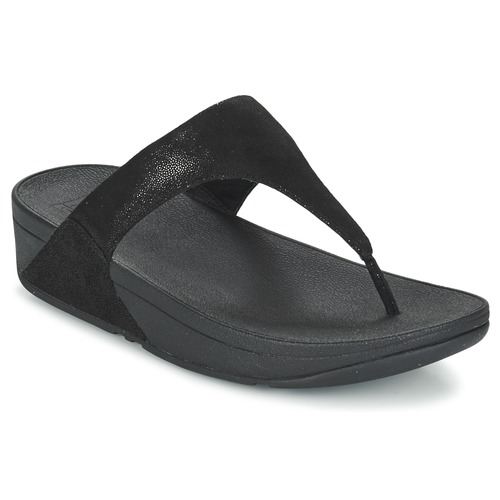 Zapatos promocionales FitFlop SHIMMY SUEDE TOE-POST Negro  Casual salvaje