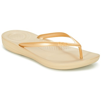 Zapatos Mujer Chanclas FitFlop IQUSHION ERGONOMIC FLIP-FLOPS Oro