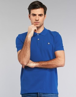 textil Hombre polos manga corta Benetton FOBIKA Azul
