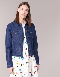 textil Mujer chaquetas denim Benetton FESCAR Azul