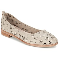 Zapatos Mujer Bailarinas-manoletinas Clarks ALANIA ROSA Beige