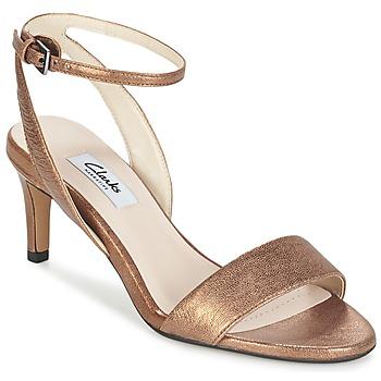 Zapatos Mujer Sandalias Clarks AMALI JEWEL Oro