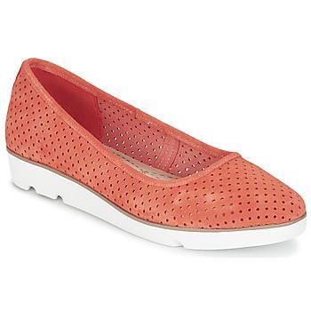 Zapatos Mujer Bailarinas-manoletinas Clarks EVIE BUZZ Coral