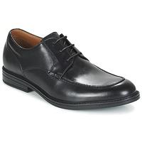 Zapatos Hombre Derbie Clarks BECKFIELDAPRON Negro