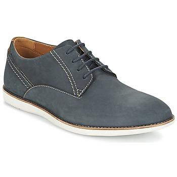 Zapatos Hombre Derbie Clarks FRANSON PLAIN Azul