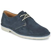 Zapatos Hombre Derbie Clarks JARETH WALK Azul