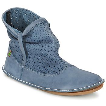 Zapatos Mujer Botas de caña baja El Naturalista FORMENTERA Azul