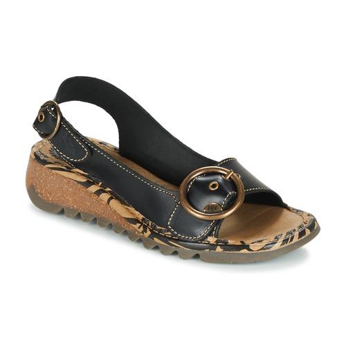 Cómodo y bien parecido Zapatos especiales Fly London TRAMFLY Negro