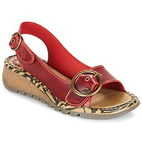 Zapatos Mujer Sandalias Fly London TRAMFLY Rojo