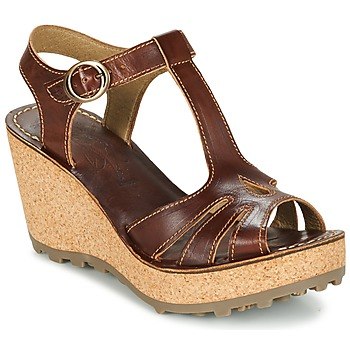 Zapatos Mujer Sandalias Fly London GOLDY Marrón