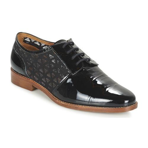 Zapatos Mujer Derbie Heyraud ELEANA Negro