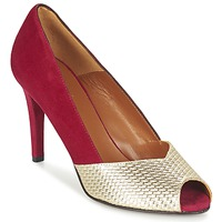 Zapatos Mujer Zapatos de tacón Heyraud ELOISE Rojo / Oro