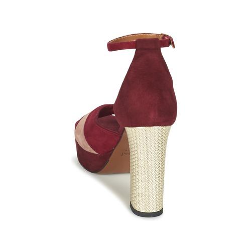 Oro Eveline Mujer Sandalias Heyraud RojoRosa Zapatos ZlXiwOPkuT