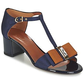 Zapatos Mujer Sandalias Heyraud ENAEL Azul / Marrón / Negro