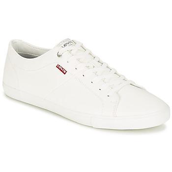 Zapatos Hombre Zapatillas bajas Levi's WOODS Blanco