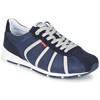 Zapatos Hombre Zapatillas bajas Levi's ALMAYER II Marino / Blanco