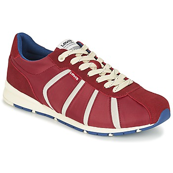Zapatos Hombre Zapatillas bajas Levi's ALMAYER II Rojo