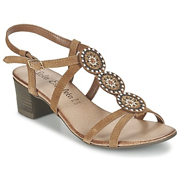 Zapatos Mujer Sandalias Lola Espeleta GENIAL COGNAC