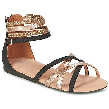 Zapatos Niña Sandalias Bullboxer REVILZOA Negro / Oro