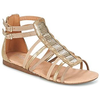Zapatos Niña Sandalias Bullboxer JEZIANA Oro