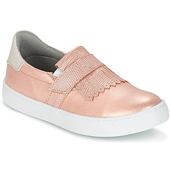 Zapatos Niña Slip on Bullboxer ADJAGUE Rosa / DORADO