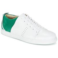 Zapatos Hombre Zapatillas bajas M. Moustache RENE Blanco / Verde