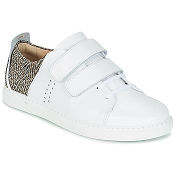 Zapatos Mujer Zapatillas bajas M. Moustache RENEE Blanco / Jacquard