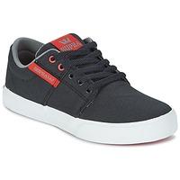 Zapatos Niños Zapatillas bajas Supra KIDS STACKS II VULC Negro / Rojo