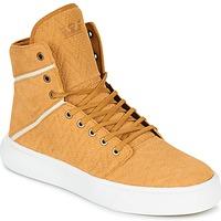Zapatos Hombre Zapatillas altas Supra CAMINO Amarillo