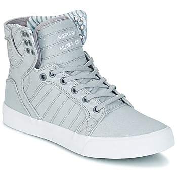 Zapatos Zapatillas altas Supra SKYTOP Gris