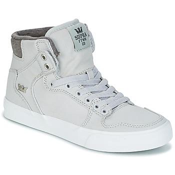 Zapatos Zapatillas altas Supra VAIDER Gris