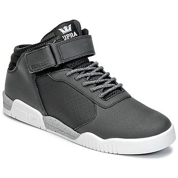 Zapatos Hombre Zapatillas altas Supra ELLINGTON STRAP Negro