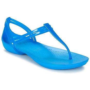 Zapatos Mujer Sandalias Crocs CROCS ISABELLA T-strap Azul